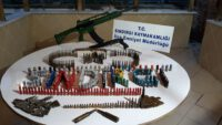Balıkesir'de 341 Adet Ağır, Uzun ve Kısa Namlulu Silahlara Ait Fişek Ele Geçirildi.