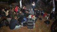 Edremit'te 44 Düzensiz Göçmen Yakalandı.