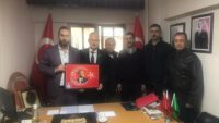 TURKAV'DAN MHP'YE ZİYARET
