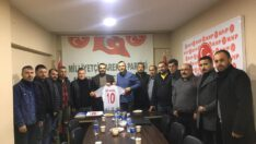 BALKES'TEN MHP'YE ZİYARET