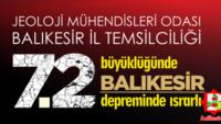 Balıkesir'deki tehlike İstanbul'dan yüksek!