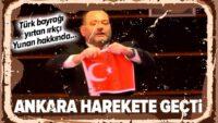Türk bayrağı yırtan Irkçı Yunan vekil hakkında..