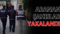 Balıkesir'de polis 33 aranan şahsı yakaladı.