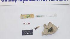 Balıkesir polisinden uyuşturucu operasyonu.