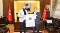Ali Eren Demirezen Vali Ersin Yazıcı'yı ziyaret etti.