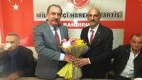 Bandırma MHP'de yeni yönetim görevi devraldı