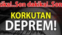 BALIKESİR DE SALLANDI..MANİSA'DA 5.1 ŞİDDETİNDE DEPREM!..
