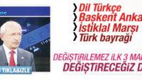 İhanetin anayasası için CHP sözünde duruyor!