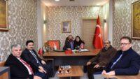 MHP'Lİ MECLİS ÜYESİNE ZİYARET