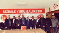 BAŞKAN AVCI'DAN KARESİ MHP'YE ZİYARET