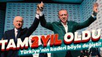 Cumhur İttifakı 2 yıl önce bugün başladı! Türkiye'nin tarihi değişti