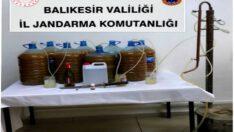 Jandarmadan Sahte İçki Operasyonu