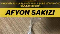 Balıkesir polisinden uyuşturucu operasyonu: 3 tutuklama