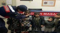 Afganistan Uyruklu 9 Düzensiz Göçmen Yakalandı.