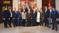 BAYRAK DEĞİŞİMİ İÇİN BALIKESİR'E GELDİLER