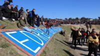 Edremit deve güreşleri festivali yapıldı