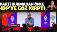 ALİ BABACAN'DAN HDP'YE MESAJ