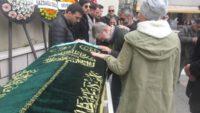 Ahmet Mekin'in eşi Kumral Şükran Kurteli Erdek Ocaklar'da toprağa verildi