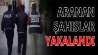 Balıkesir'de polis 16 aranan şahsı yakaladı.