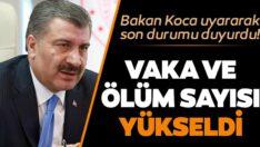 Türkiye'deki yeni coronavirüs vaka ve ölü sayısı arttı