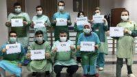 BAÜN Sağlık çalışanlarından mesaj var!