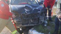 Arazi aracı otomobili biçti: 4 yaralı