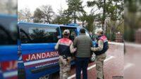 Jandarma 14 Aranan Şahsı Yakaladı.