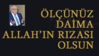 ALLAH RIZASI (Sıtkı ŞEREMETLİ)