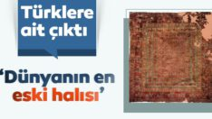 Dünyanın en eski halısı Türklere ait çıktı