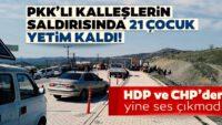 PKK'nınDiyarbakır'daki kalleş saldırısı 21 çocuğu yetim bıraktı!CHPveHDP'den ses çıkmadı…