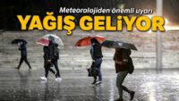 Meteorolojik Uyarı..Sıcaklıklar Azalacak…