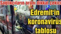 EDREMİT'İN KORONAVİRÜS TABLOSU