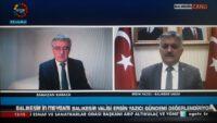 """Vali Ersin Yazıcı:"""" Balıkesir'de 800 vaka, 56 vefat oldu"""""""