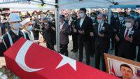 Şehit Hasan Kuzu, İvrindi Okçular köyünde toprağa verildi.