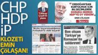 CHP-HDP-İP klozeti Emin Çölaşan!