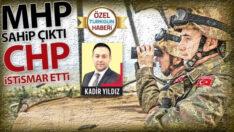 MHP sahip çıktı, CHP istismar etti