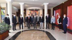 Vali Hasan Şıldak İçişleri Müdürleri İle Toplantı Yaptı
