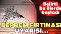 81 ilde seferberlik! 'Deprem Fırtınası'na karşı uyarı..