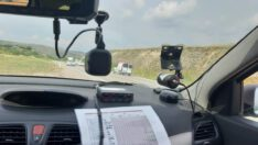 Jandarmadan Radarla Hız Kontrolü!