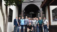 Vali Yazıcı'dan Gazeteciler Cemiyeti'ne veda ziyareti
