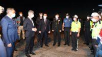 İçişleri Bakan Yardımcısı Muhterem İnce, Altınova'da Trafik Denetimine Katıldı