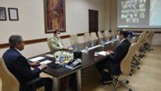 Vali Şıldak İlçe Kaymakamları İle Video Konferans Toplantısı Gerçekleştirdi