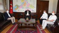 Vali Hasan Şıldak'a Ziyaretler Devam Ediyor