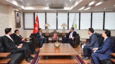 Başkonsolos İmam As'ari Balıkesir Büyükşehir Belediyesini ziyaret etti.