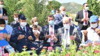15Temmuzşehidi polis memuru Turgut Solak dualarla anıldı.