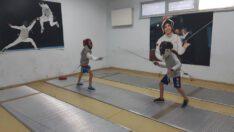 Eskrim, Okçuluk, Cimnastik, Badminton, Geleneksel Türk Okçuluğu antremanları