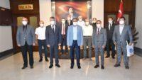 Vali Hasan ŞILDAK'ın Yoğun Haftasonu Mesaisinde Ziyaretçi Akını