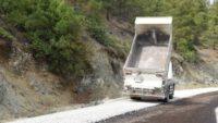 Dursunbey'de 16 km Yol Asfaltlanarak Trafiğe Açıldı