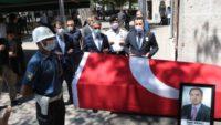 Vefat eden Başsavcı Balıkesir'de toprağa verildi