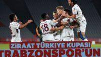 Ziraat Türkiye Kupası finalinde Trabzonspor, Alanyaspor'u 2-0 mağlup ederek şampiyon oldu